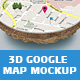 3D Map Mockup - GraphicRiver Item for Sale