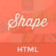 Link toShape - professional html photography theme