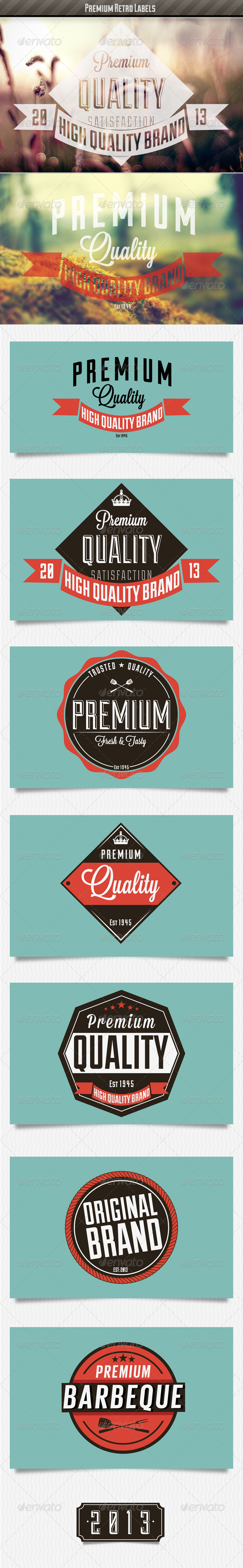 GraphicRiver Vintage Labels 5002814