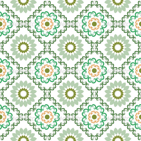 Seamless Classic Pattern 39