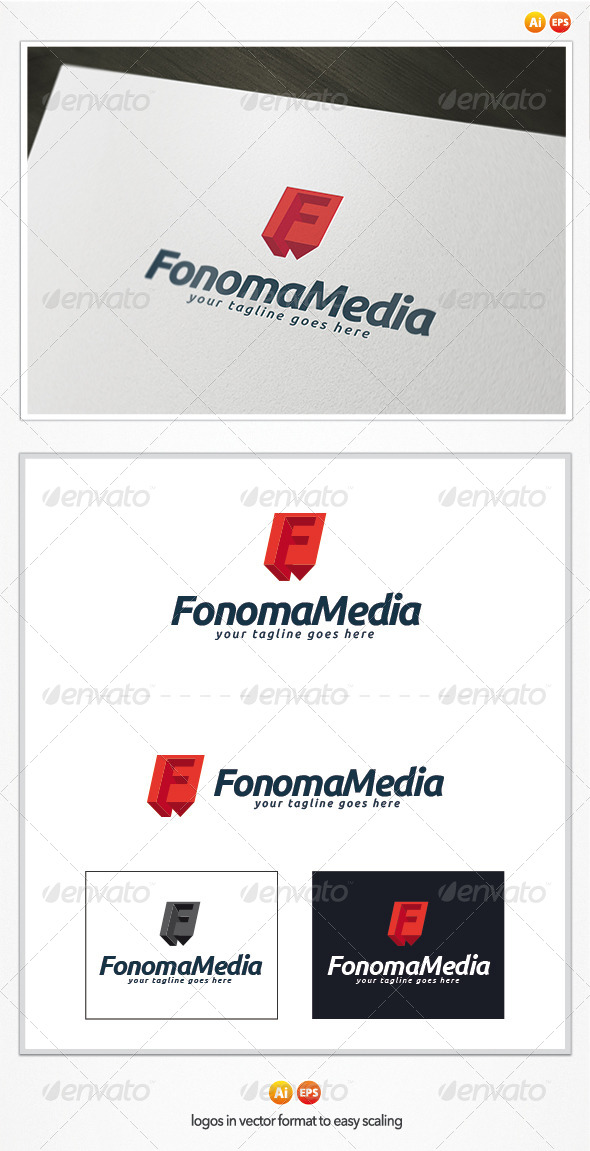 GraphicRiver Fonoma Media Logo 5017554
