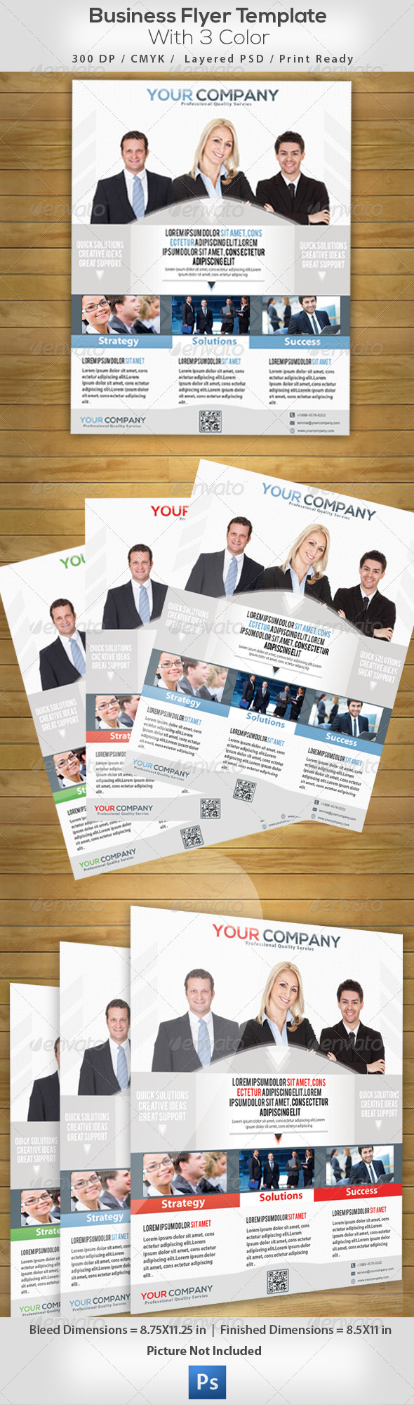 GraphicRiver Business Flyer 4949359