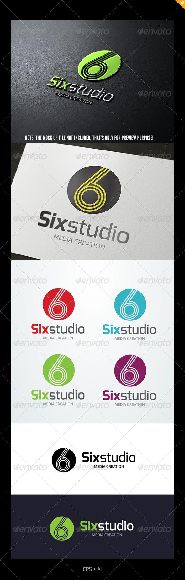 GraphicRiver Six Studio Logo 5017871