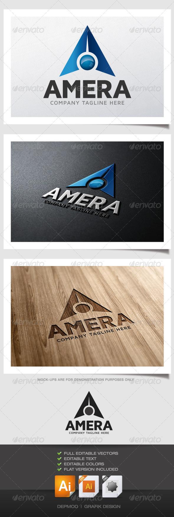 GraphicRiver Amera Logo 5017888