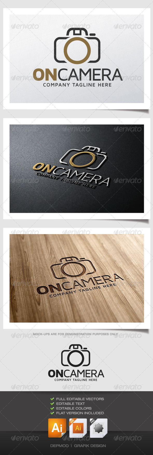GraphicRiver On Camera Logo 5018044