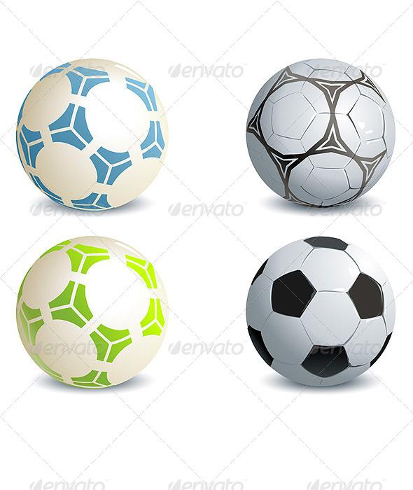 GraphicRiver Soccer Balls 5018621