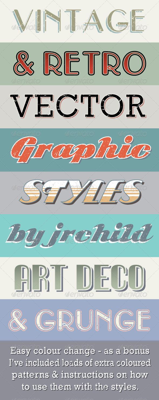 GraphicRiver Vintage & Retro Text Styles 4994911