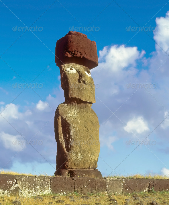Easter island - Stock Photo - Images