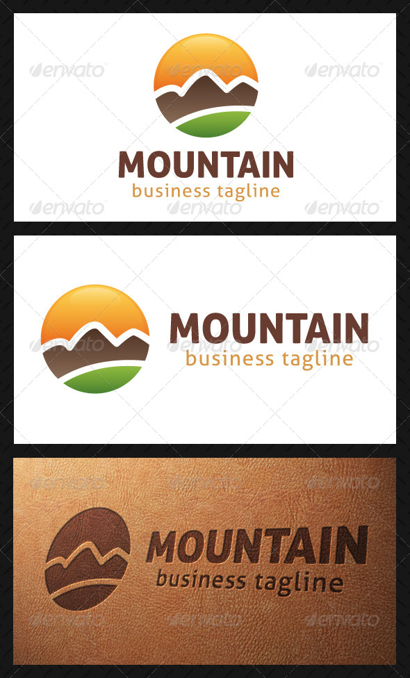 Mountain Logo Template - Nature Logo Templates