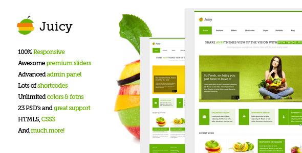 Juicy - Responsive Multi-Purpose Wordpress Theme