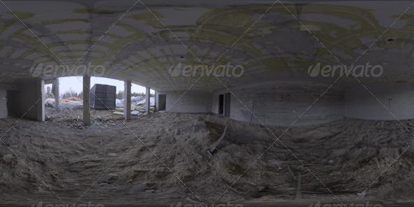 3DOcean Industrial Area HDRI Demolition Site 5019744