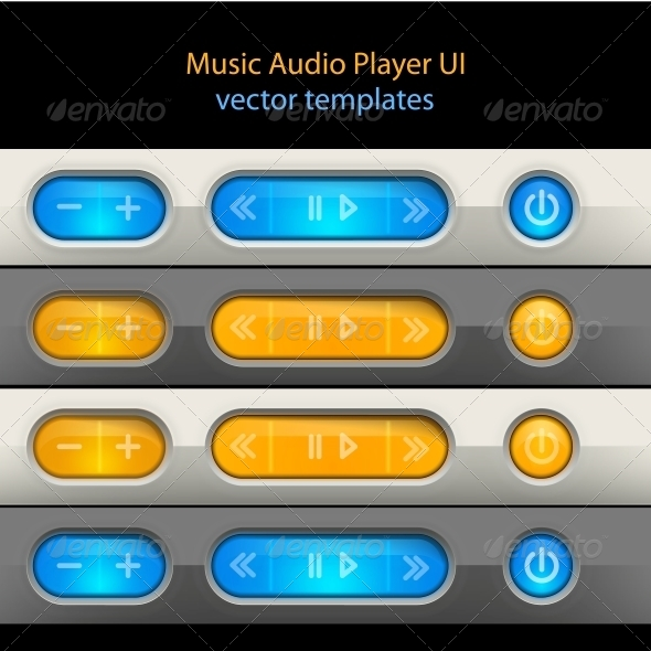 GraphicRiver Media Player Control Elements 5019900