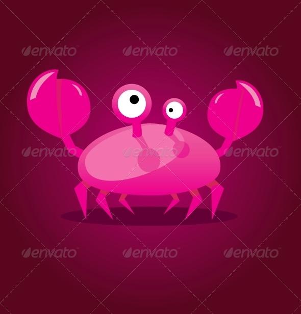GraphicRiver Cartoon Crab 5020769
