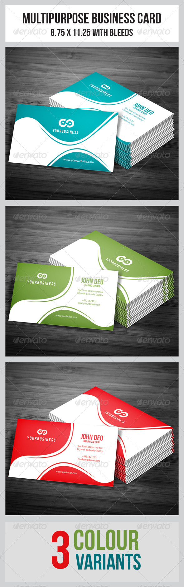 GraphicRiver Corporate Business Cards 5021011