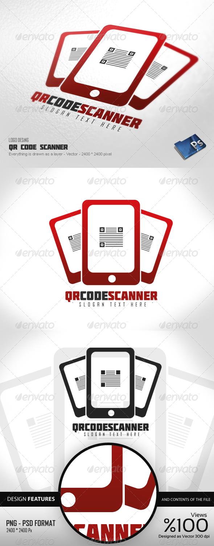 GraphicRiver QR Code Scanner Logo 4354043