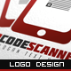 QR Code Scanner Logo - GraphicRiver Item for Sale