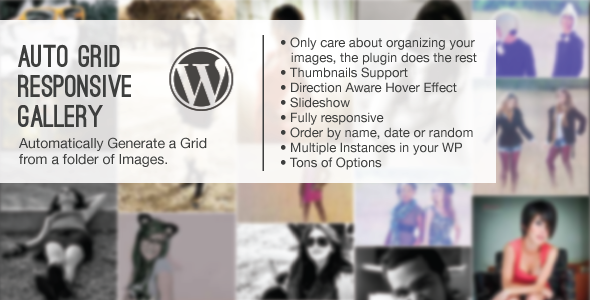 This is a plugin that scans a folder in your plugins folder of your Wordpress and its subfolders containing images.