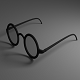 Eye Glasses Version 2 (Low-Poly)