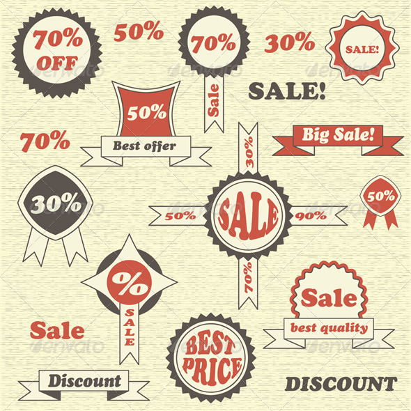 GraphicRiver Vector Sale Collection 5022467