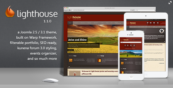 theme forest news update: Themes Download Lighthouse - Responsive ...