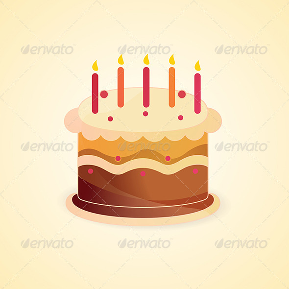 GraphicRiver Birthday Cake 5022630