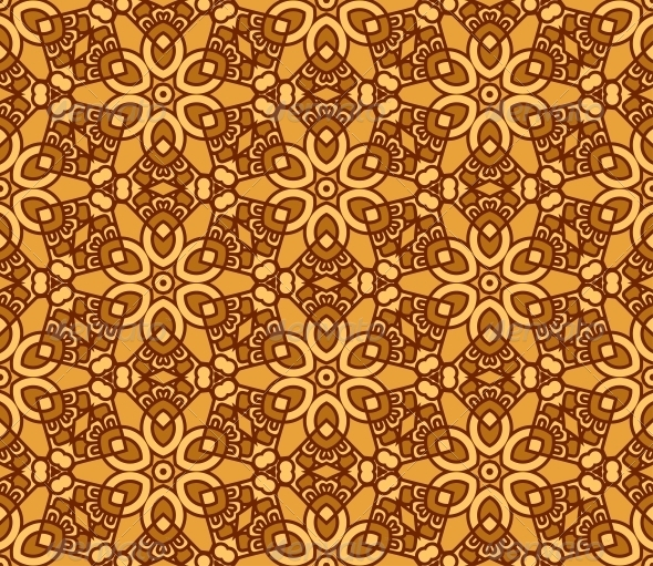 GraphicRiver Seamless Retro Pattern Background 5022634