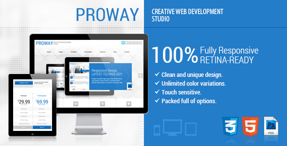 ProWay - Responsive Multipurpose HTML5 Template (Business)