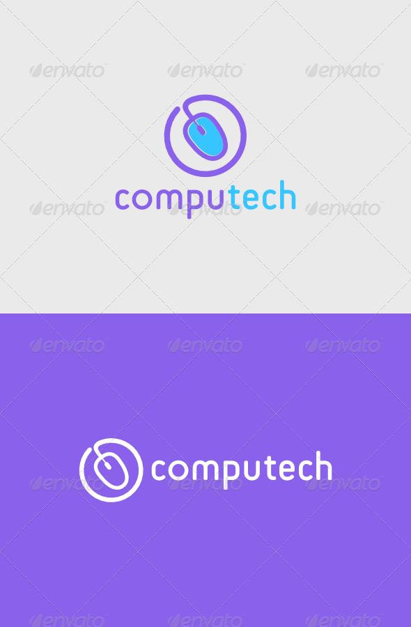GraphicRiver Computech Logo 4986088