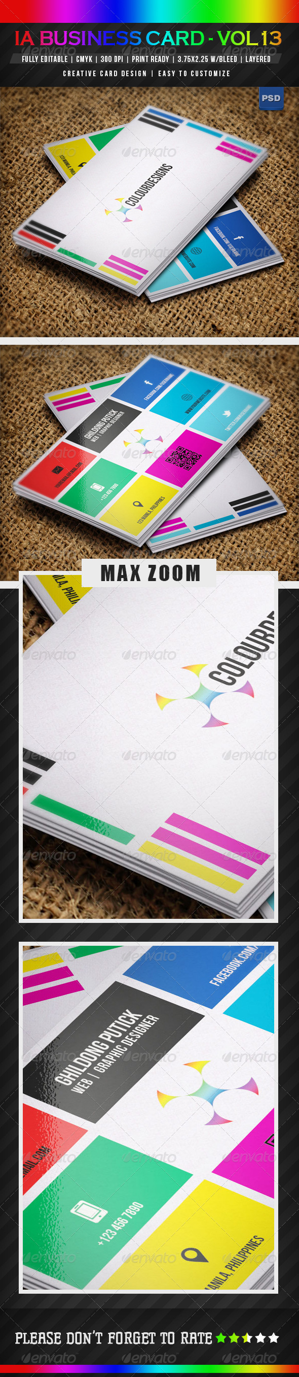 GraphicRiver IntenseArtisan BUSINESS CARD VOL.13 5023989