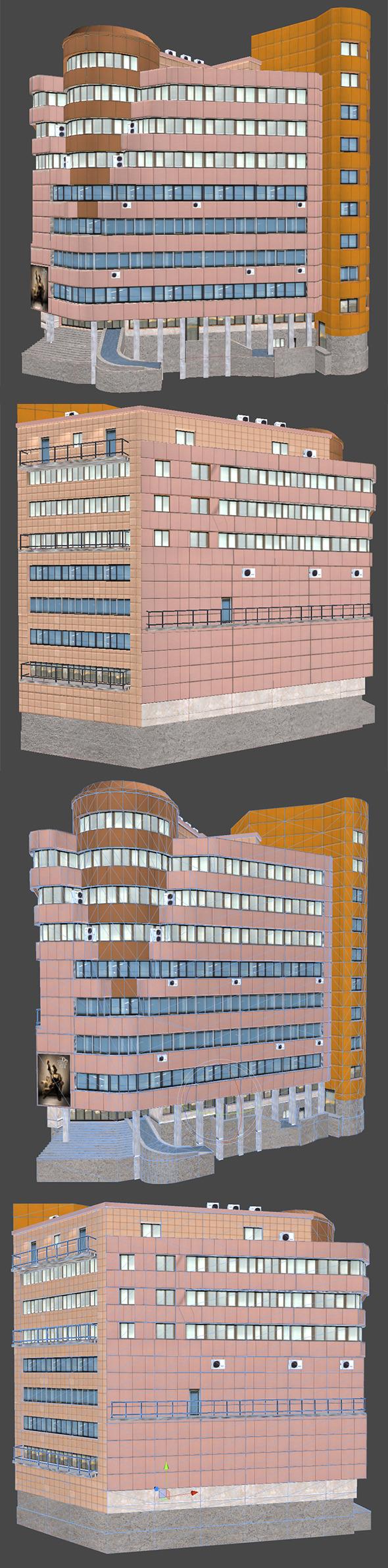 3DOcean Office Building 5020710