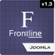Frontline – A Clean Professional Joomla Template.  Free Download