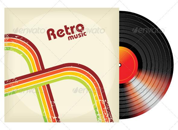 GraphicRiver Retro-Styled Vinyl 5024299