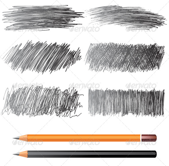 GraphicRiver Pencil Drawings 5024327