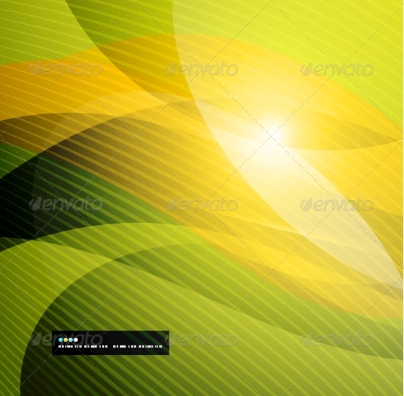 GraphicRiver Abstract Glowing Lines 5024333