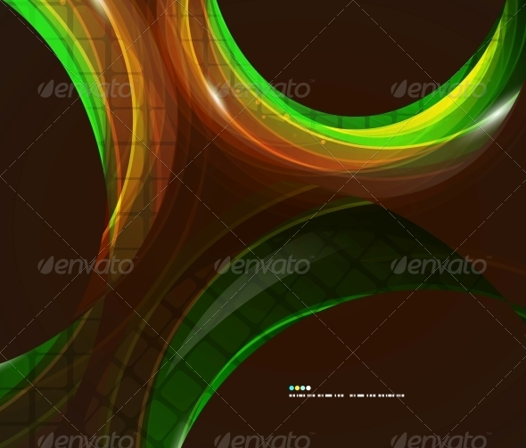 GraphicRiver Colorful Swirl Abstract Background 5024342