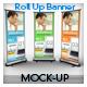 "Roll Up Banner Mock-up  ""Vol 01"""