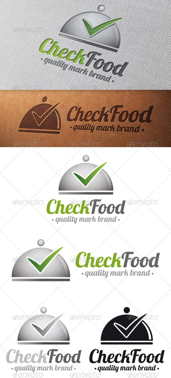 GraphicRiver Gourmet Tick Check Mark Logo Template 5024486