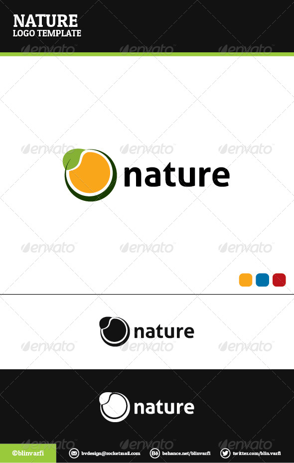 Nature Logo Template - Nature Logo Templates