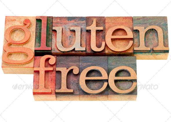 PhotoDune gluten free text 518323