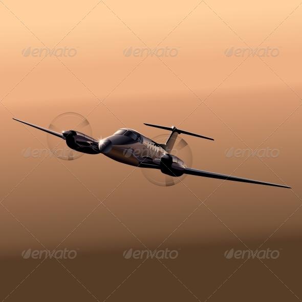 GraphicRiver Civil Utility Aircraft 5025558