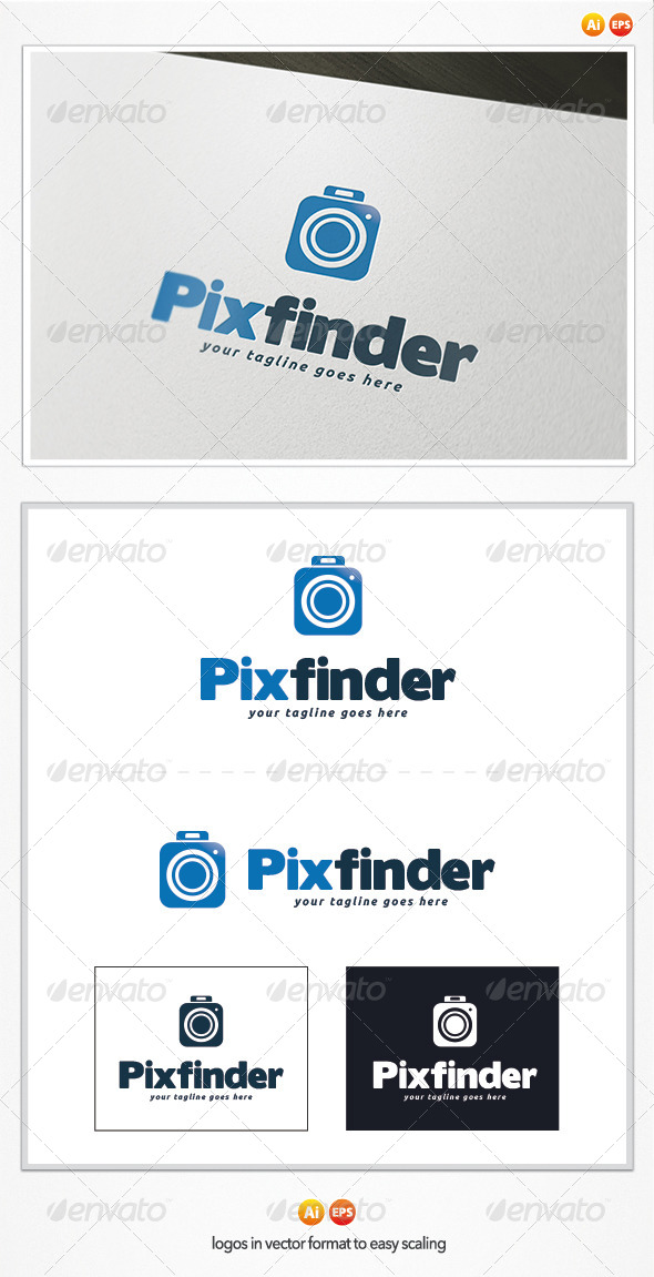 GraphicRiver Pix Finder Logo Template 5010319
