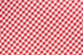 Red and white gingham tablecloth texture - PhotoDune Item for Sale
