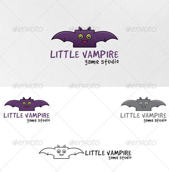 GraphicRiver Vampire Bat Logo Template 5026751