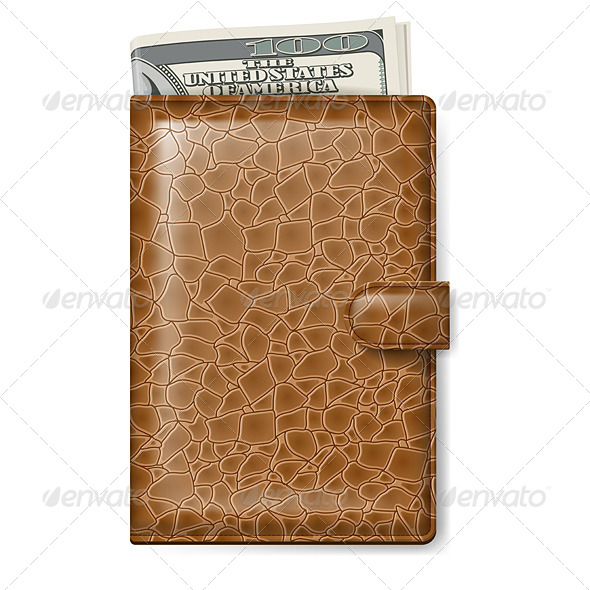 GraphicRiver Leather Wallet 5027198