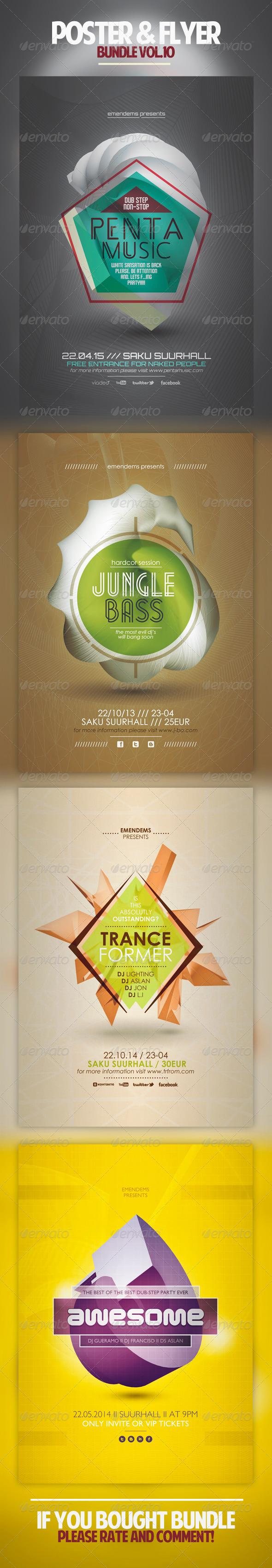 GraphicRiver Poster & Flyer Bundle Vol.10 5027202