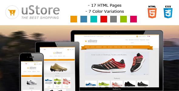 uStore - Responsive eCommerce Html5 Template
