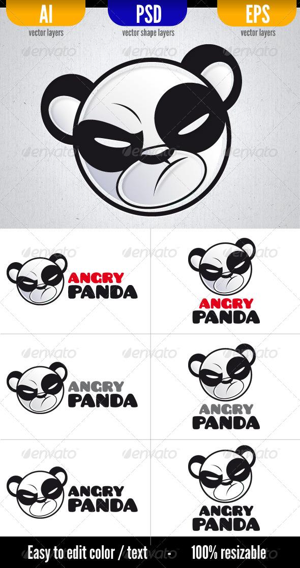 GraphicRiver Angry Panda 5027265