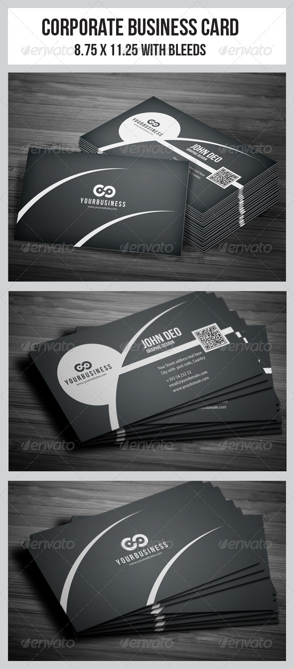 GraphicRiver Corporate Business Cards 5028077