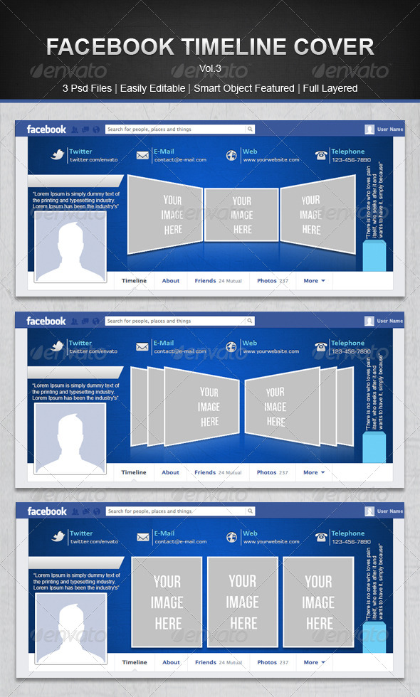 GraphicRiver Facebook Timeline Cover 5028199