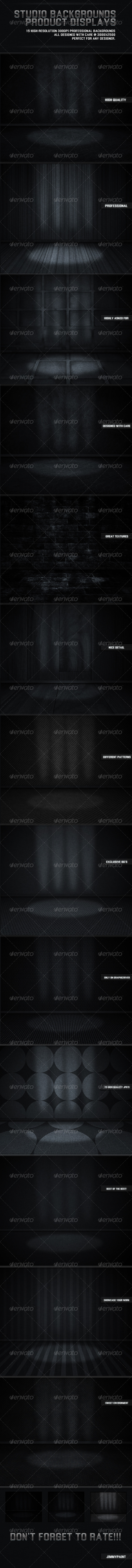 GraphicRiver Studio Backgrounds Product Displays 5028232